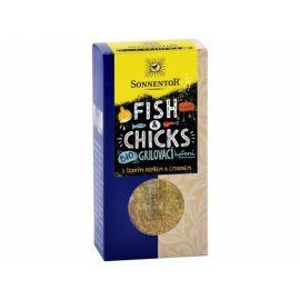 Bio Fish & Chicks - grilovací koření na ryby a kuře Sonnentor 55g