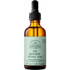 Bio Havlíkův tělový olej - Havlíkova Apotéka  30ml