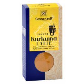 Bio Kurkuma Latte-zázvor krabička (Pikantní kořeněná směs) Sonnentor 60g