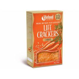 Bio Life crackers Mrkvánky RAW Lifefood 80g