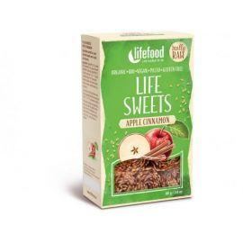 Bio Life sweets Jablečné se skořicí Lifefood 80g