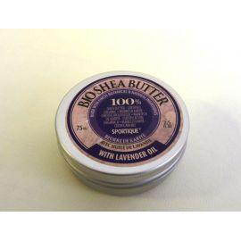 Čisté bambucké máslo s levandulovým olejem BIO SHEA BUTTER  75ml