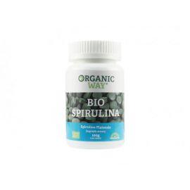 Bio Spirulina 400 tbl. Organic way 100g