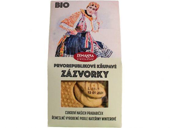Biopekárna Zemanka Bio sušenky se zázvorem 100g