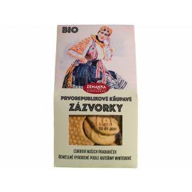 Bio sušenky se zázvorem Biopekárna Zemanka 100g