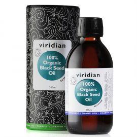Black Seed Oil Organic (Bio olej z egyptského černého kmínu) 200ml Viridian