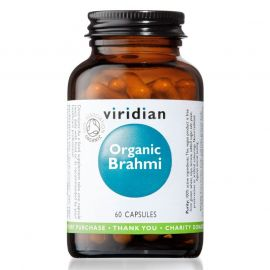 Brahmi Organic 60 kapslí Viridian