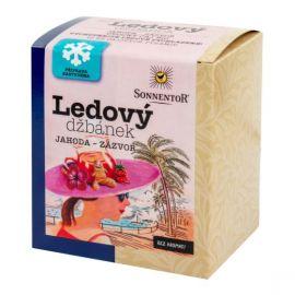 Bio Čaj Ledový džbánek jahoda - zázvor Sonnentor 44,8 g