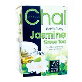 Čaj  Zelený Jasmínový  Fudco  25 sáčků  50g