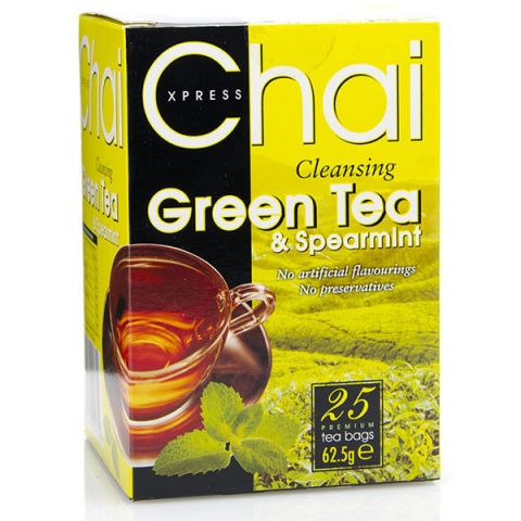 Čaj ZELENÝ S MÁTOU Fudco 25 sáčků