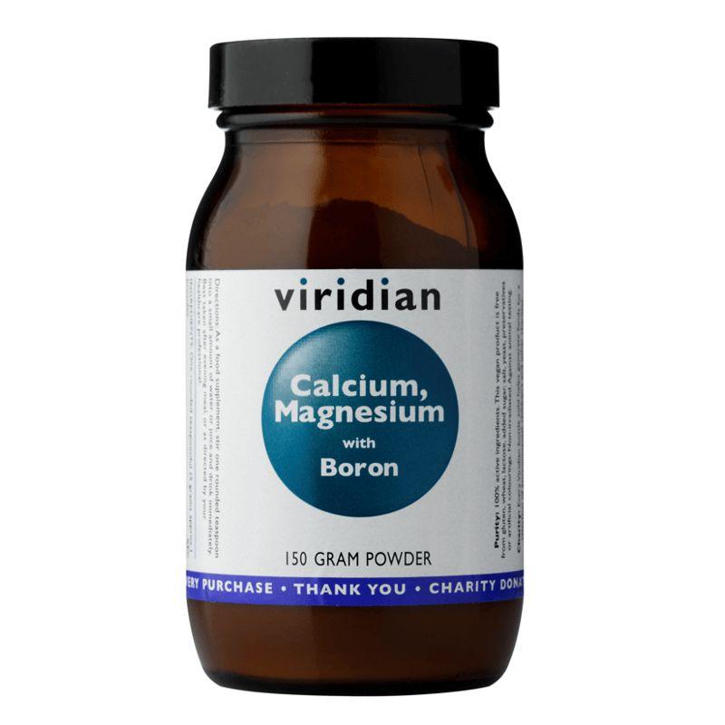 Viridian Calcium Magnesium with Boron Powder (Vápník, hořčík a bór) 150g