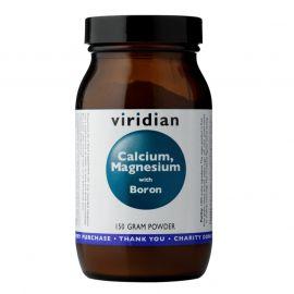 Calcium Magnesium with Boron Powder (Vápník, hořčík a bór) 150g Viridian