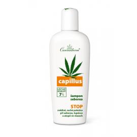 Capillus seborea ošetřující šampon Cannaderm 150 ml