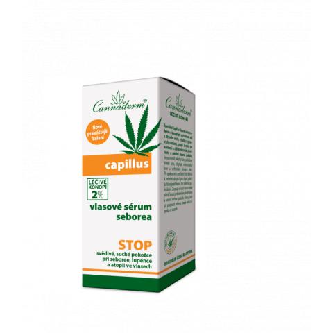 Capillus vlasové sérum seborea Cannaderm 40ml