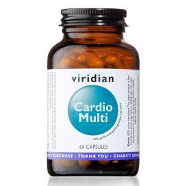 Cardio Multi (Multivitamín pro kardiovaskulární systém) 60 kapslí Viridian