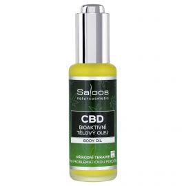 CBD Bioaktivní tělový olej Saloos 50ml