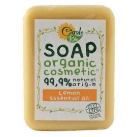 Mýdlo s citronovým esenciálním olejem Bio Cigale 100g