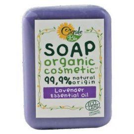 Mýdlo s levandulovým esenciálním olejem Cigale 100g
