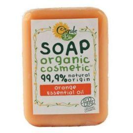 Mýdlo s pomerančovým esenciálním olejem Bio Cigale  100g