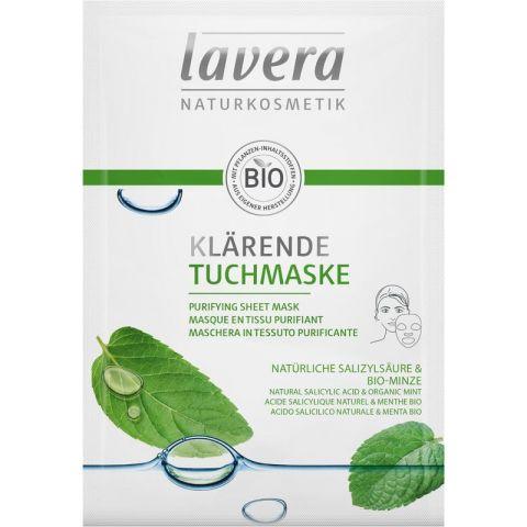 Textilní maska čistící Lavera 21 ml