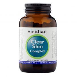 Clear Skin Complex (Přírodní péče o pleť) 60 kapslí Viridian