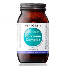 Curcumin Complex (Kurkuma, kadidlovník a zázvor) 90 kapslí Viridian