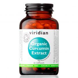 Curcumin Extract Organic (Kurkumin) 60 kapslí Viridian