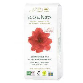 Dámské ECO slipové vložky - normal Naty 32 ks