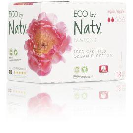Dámské ECO tampóny - regular Naty 18 ks