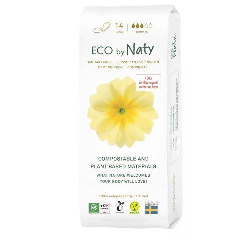 Dámské ECO vložky - normal Naty 14 ks
