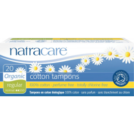 Dámské tampóny Regular Natracare  20 ks