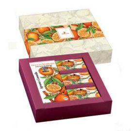 Dárkový set Citrus a skořice s arganovým olejem Florinda (200ml; 3x50g)