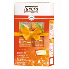 Dárkový WELLNESS SET Pomerančové zážitky Lavera