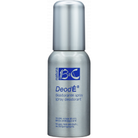 DeodÉ - Deodorant ve spreji s mechanickým rozprašovačem BeC Natura 75 ml