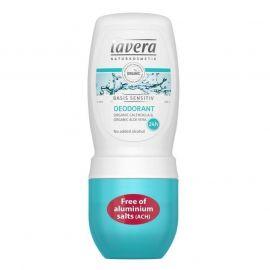 Deodorant BIO kuličkový Basis sensitiv  LAVERA 50ml
