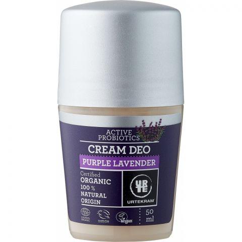 Deodorant roll on krémový levandule BIO, VEG Urtekram 50ml