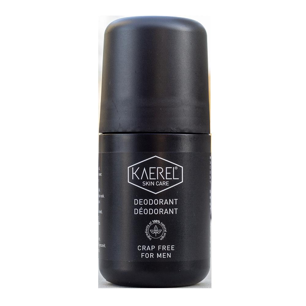 KAEREL Deodorant roll-on pro muže CRAP FREE 50 ml VEG