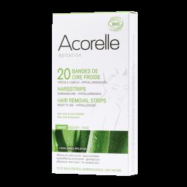 Depilační proužky BIO - obličej Acorelle 20ks