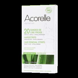 Depilační proužky BIO - podpaží a třísla Acorelle 20ks