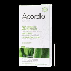 Depilační proužky BIO - tělo Acorelle 20ks