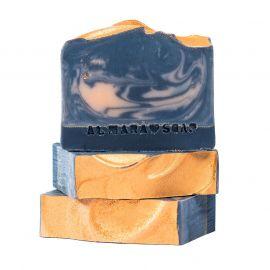 Designové ručně vyrobené mýdlo pro normální pokožku Amber Nights Almara Soap 100 g