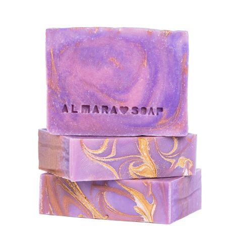 Designové ručně vyrobené mýdlo pro normální pokožku Magická aura Almara Soap 100 g