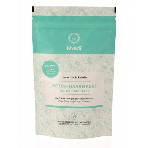 Detox vlasová maska Rhassoul & Reetha Khadi 150g