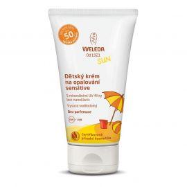 Dětský krém na opalování SPF 50 Sensitive Weleda 50 ml