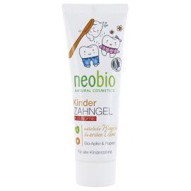 Dětský zubní gel Bio-Jablko & Papaya Neobio 50ml