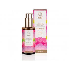Elixír olej pro pokožku a duši RŮŽE LÁSKA Khadi - 100 ml