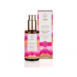 Elixír olej pro pokožku a duši RŮŽOVÝ LOTOS KRÁSA Khadi - 100 ml