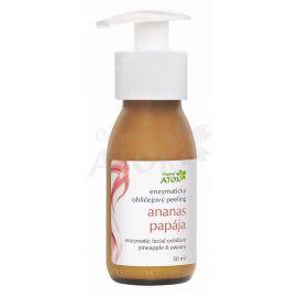 Enzymatický obličejový peeling Ananas - papája Atok 50 ml