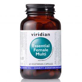 Essential Female Multi (Natural komplex pro ženy) 60 kapslí Viridian