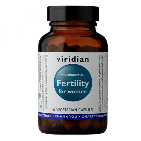 Fertility for Women (Ženská plodnost) 60 kapslí Viridian
